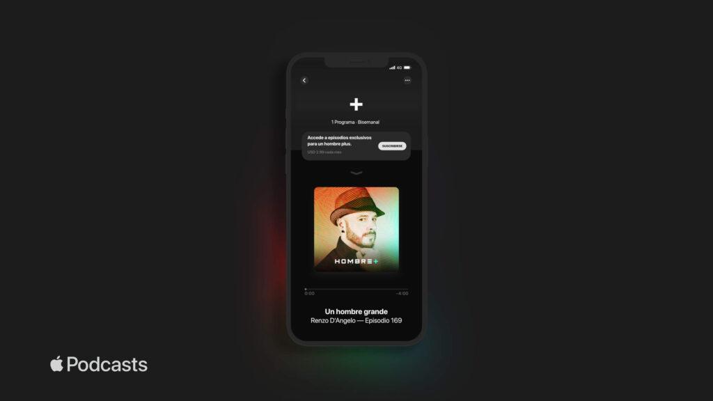 Lanzamiento del canal en Apple Podcasts